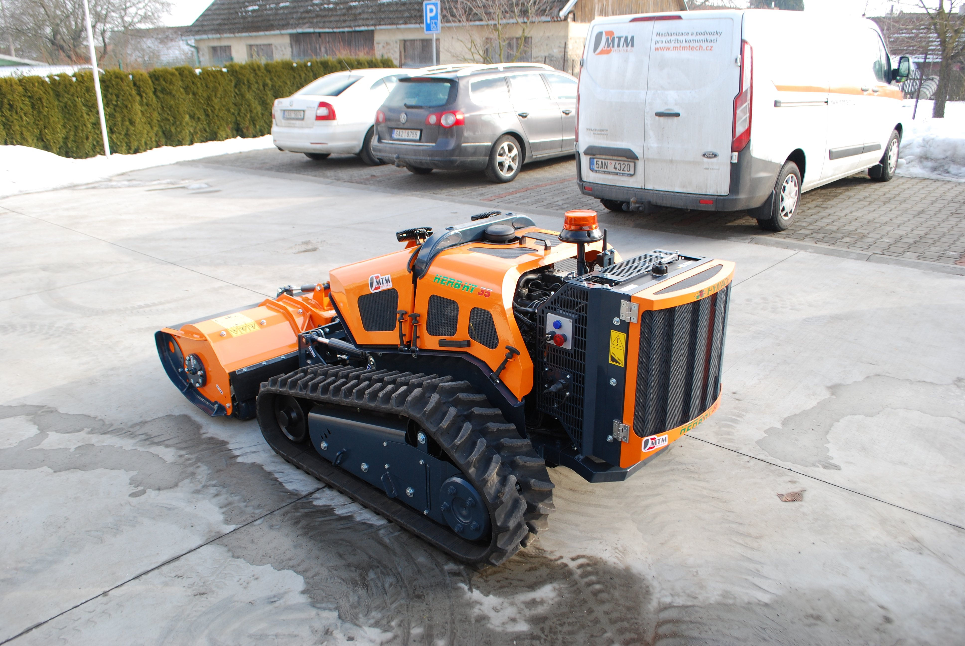 Tracked mower HERBHY 40 C