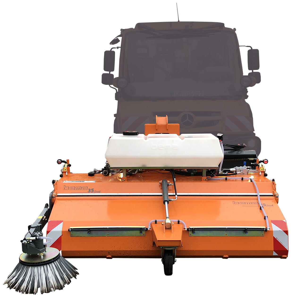 Mechanical sweeper Bema 35 Dual
