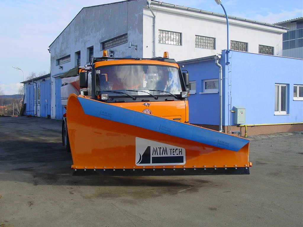 Snow plough LLV35K