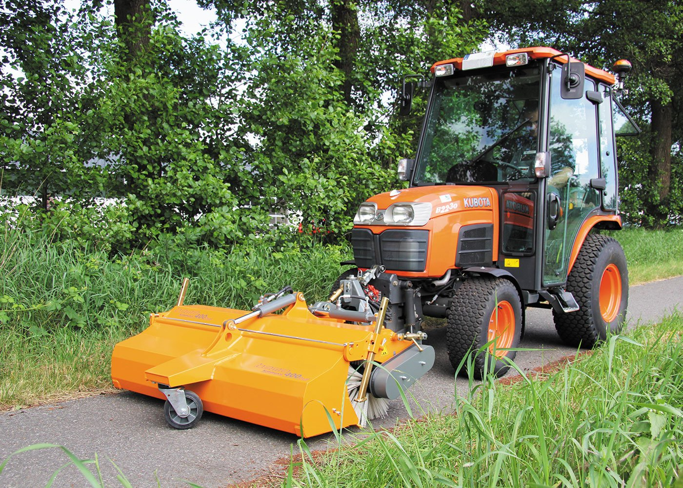 Mechanical sweeper Bema Kommunal 400